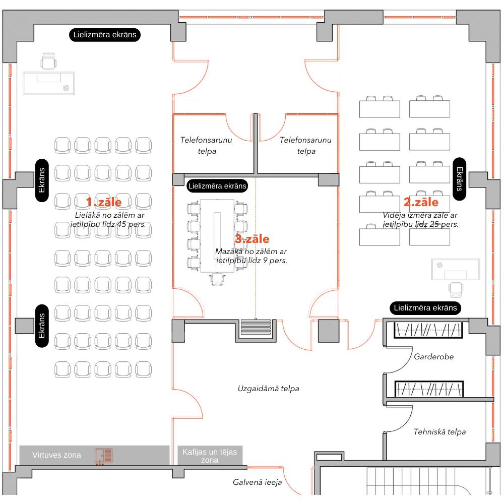 Meeting Rooms Plan